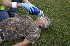 Manual resuscitator Royalty Free Stock Photo