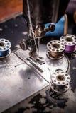 Manual sewing machine Stock Image