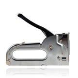 Manual staple gun. On isolated white background Royalty Free Stock Photo