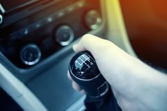 Manual Transmission Drive Royalty Free Stock Photography