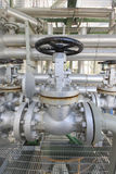 Manual valve Royalty Free Stock Image