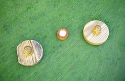 Manual wood toy Royalty Free Stock Image