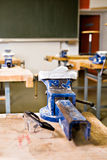 Manual work classroom Stock Photo