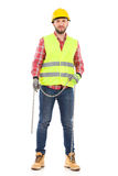 Manual worker with a chain Stock Photos