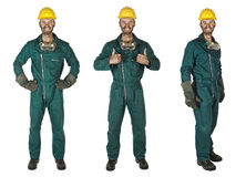 Manual worker collection stock photo