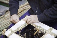 Manual worker craftsman Stock Image