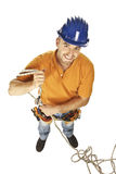 Manual worker on duty Stock Image