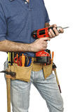 Manual worker tool Royalty Free Stock Image