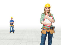 Manual workers Royalty Free Stock Image
