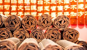Manuale di bambù immagine stock