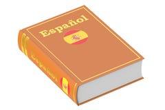 Manuale di lingua spagnola, rappresentazione 3D royalty illustrazione gratis