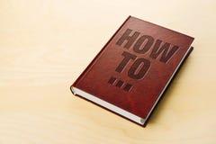 Manuale fai-da-te Guida di Personl fotografie stock libere da diritti
