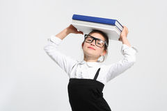 Manuale scolastico Fotografie Stock Libere da Diritti