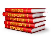Manuali di lingua Fotografia Stock Libera da Diritti