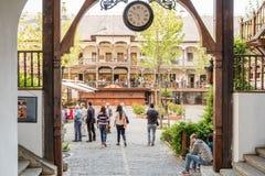 Manuc austeria W Bucharest (Hanul lui Manuc) Obraz Royalty Free