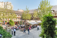 Manuc's Inn (Hanul lui Manuc) In Bucharest Royalty Free Stock Image