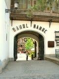 Manuc's Inn (Hanul Manuc) Bucharest Stock Images