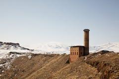 Manucehr meczet w Ani, Kars, Turcja Zdjęcia Stock
