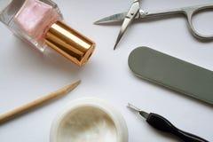 Manucure. Photographie stock libre de droits