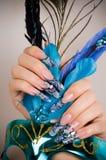 Manucure des doigts des mains Photo stock