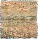 Manueel geproduceerde textuur, beverige horizontale lijnen die in pastelkleuren overlappen Stock Afbeeldingen