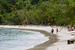 Manuel Antonio Beach, costa Rica stock photography
