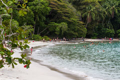 Manuel Antonio Beach, costa Rica stock image