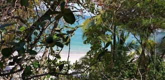 Manuel Antonio Beach royalty free stock images