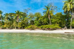 Manuel Antonio, Costa Rica - beautiful tropical beach royalty free stock photography