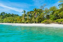 Manuel Antonio, Costa Rica - beautiful tropical beach royalty free stock images