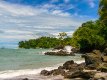 Manuel Antonio National Park arkivbild