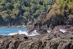 Manuel Antonio beach. Manuel Antonio National Park, Costa Rica royalty free stock photography