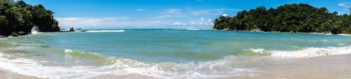Manuel Antonio plaża Zdjęcie Royalty Free
