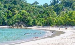 Manuel Antonio plaża Obrazy Stock