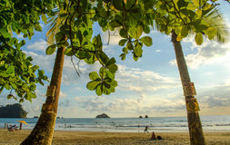Manuel Antonio tropical beach - Costa Rica Stock Photos