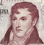 Manuel Belgrano 免版税库存照片