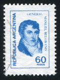 Manuel Belgrano Stock Images