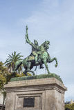 Manuel Belgrano Statue in Buenos Aires, Argentina. Statue of Manuel Belgrano, Argentine economist, lawyer, politician, and military leader and creator of the royalty free stock photography