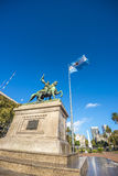 Manuel Belgrano Statue in Buenos Aires, Argentina. Statue of Manuel Belgrano, Argentine economist, lawyer, politician, and military leader and creator of the stock image
