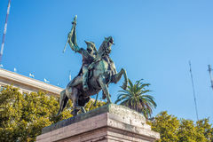 Manuel Belgrano Statue in Buenos Aires, Argentina Stock Images