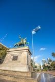 Manuel Belgrano Statue en Buenos Aires, la Argentina imagen de archivo