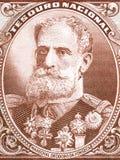 Manuel Deodoro da Fonseca-Porträt Stockfotografie