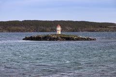Manuel Island Lighthouse, Newfoundland. Newfoundland and Labrador, Canada royalty free stock photos