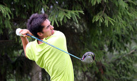 Manuel Mancebo a golf Prevens Trpohee 2009 Fotografie Stock Libere da Diritti