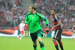 Manuel Neuer royaltyfri fotografi