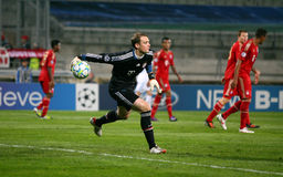 Manuel Neuer di Baviera Munchen Fotografie Stock