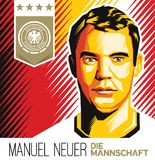 Manuel Neuer German Football Star Imagem de Stock Royalty Free