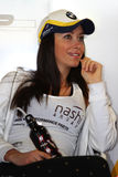 Manuela Raffaeta - BMW Motorrad GoldBet SBK Team Superbike WSBK stock image