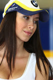 Manuela Raffaeta - BMW Motorrad GoldBet SBK Team Superbike WSBK stock images