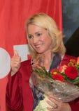 Manuela Schwesig SPD, minister i Tyskland Royaltyfri Fotografi